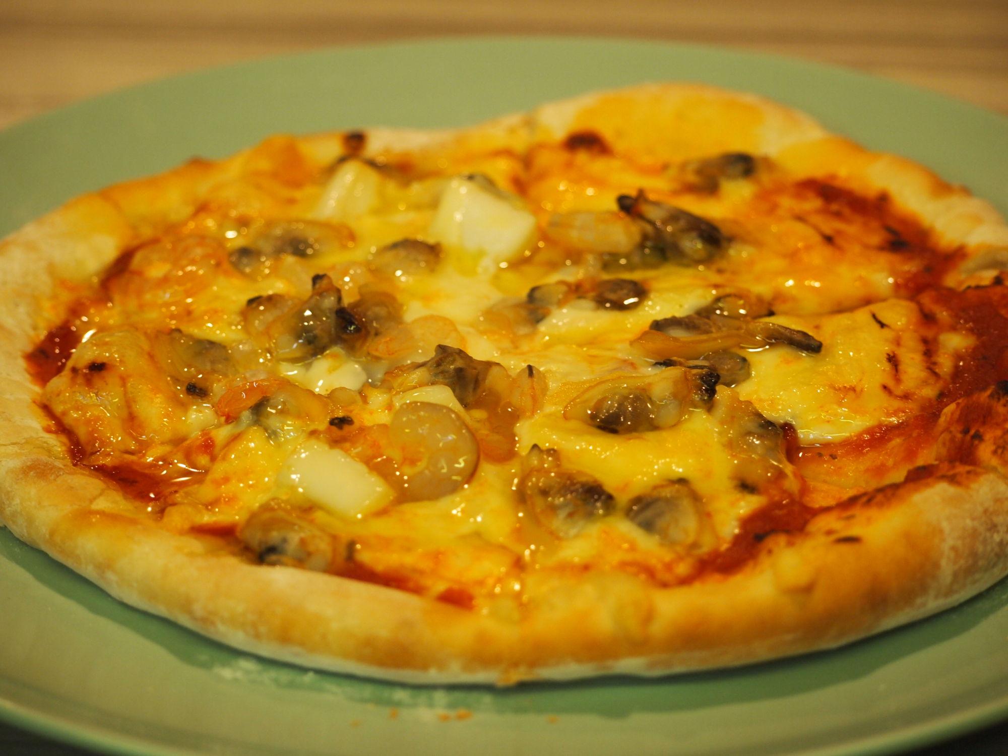 本日のピザ(自家製手延べ)