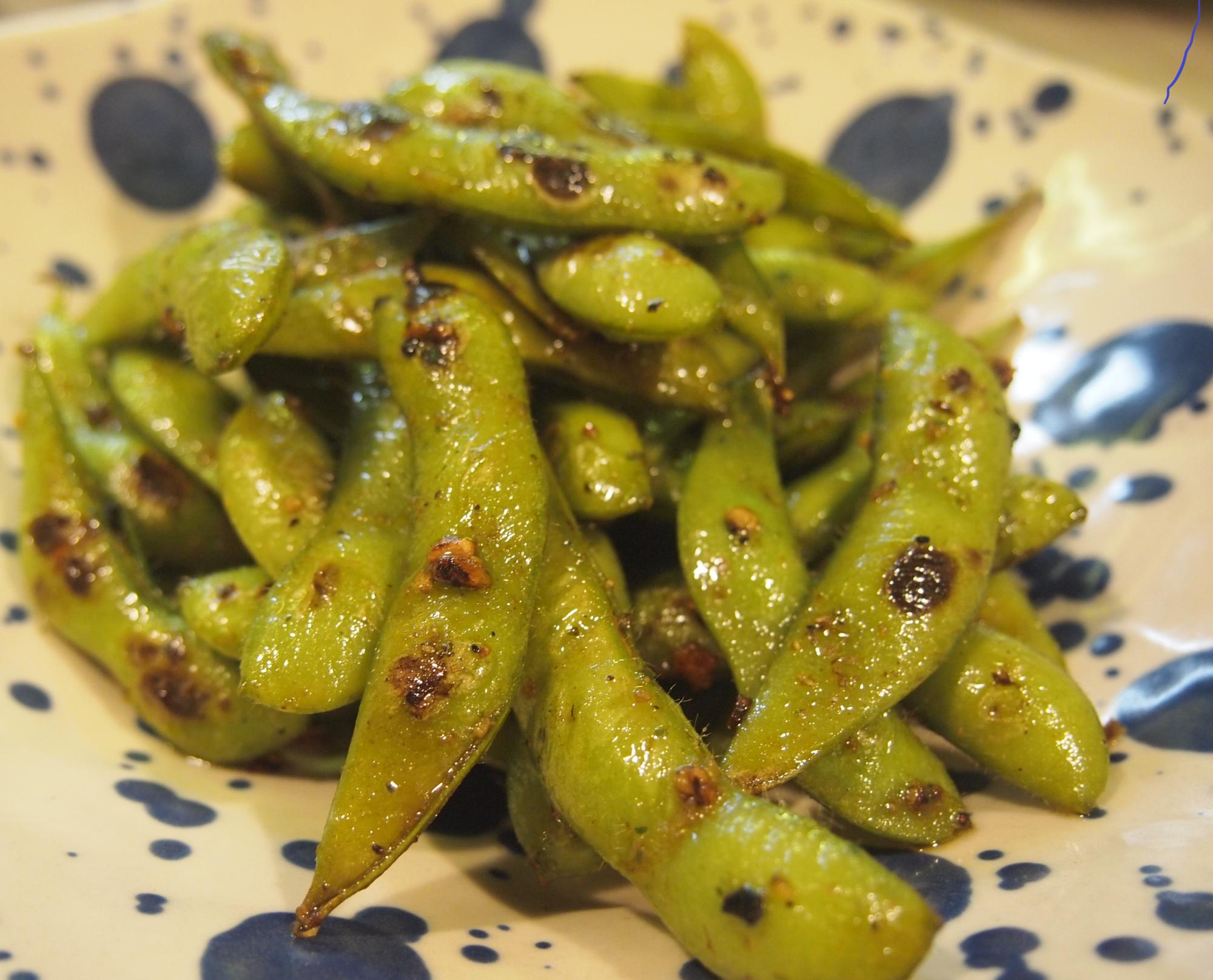 ガーリック枝豆